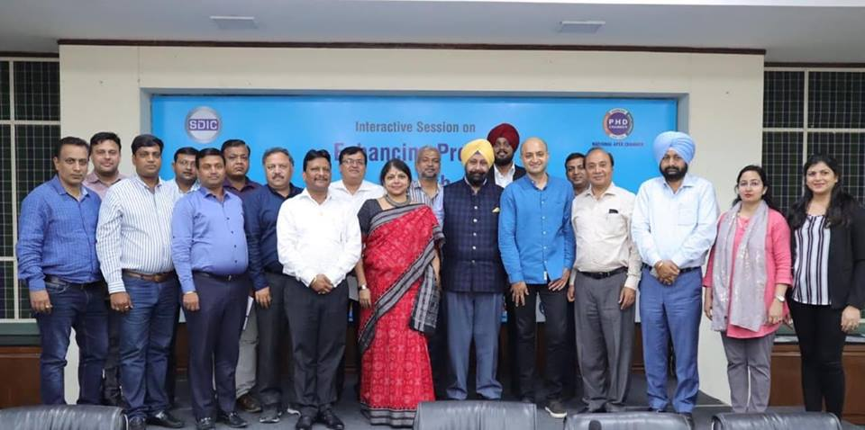 'Enhancing Profits through Customer Behavioral Change' at Ph.D Chambers of Commerce and Industry, Chandigarh.